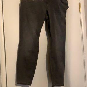 Grey Old Navy Rockstar skinny high waist 20 short